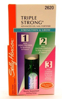 Sally Hansen Triple Strong Gel Fortifier 13 ml (Blister) (3-Pack)