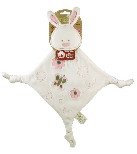 41bfow3ISFL Dandelion Pink Organic Toy Bunny Blanket