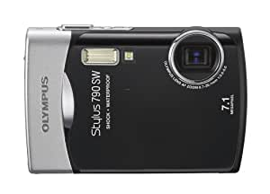 Olympus Stylus 790SW 7.1MP Waterproof Digital Camera with Dual Image Stabilized 3x Optical Zoom (Black)