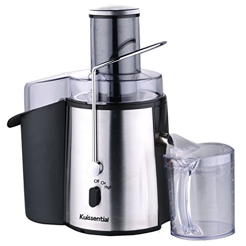 Kuissential 2-Speed 700 Watt Juice Extractor, Centrifugal Juicer – Stainless Steel