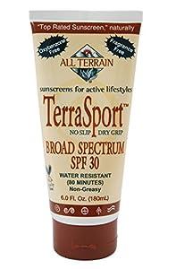 All Terrain TerraSport SPF30 Oxybenzone-Free Natural Sunscreen