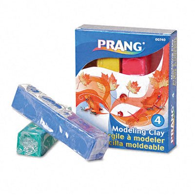 Modeling Clay, Smooth, Nonstaining, Assorted Colors