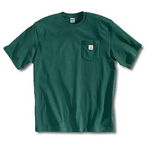 Low Price Carhartt Men's Workwear Pocket T-Shirt – Hunter Green X-Large/Tall