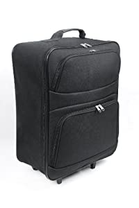 Cabin Max Foldaway Trolley Bag - Worlds Lightest Maximum Allowance Trolley Hand Luggage 44 Litre Foldable 13kg from Creative 7
