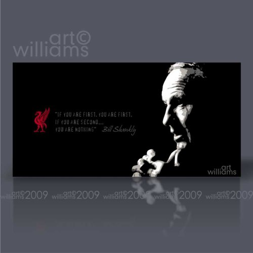 Bill Shankly (Godfather of Merseyside) Original Canvas by Art Williams – Ready to Hang