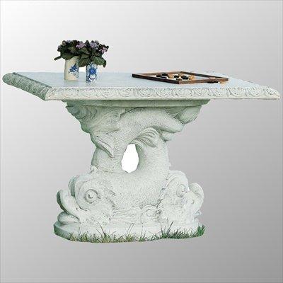 Tisch aus Betonwerkstein robuster Gartentisch rund bestellen