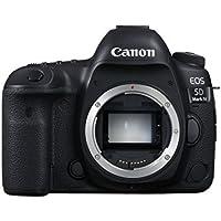 Canon EOS 5D Mark IV 30.4MP 4K Ultra HD Wi-Fi Digital SLR Camera Body (Black)