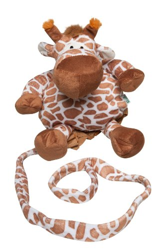 Animal Planet 2-In-1 Backpack With Harness, Giraffe front-691186