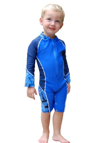 Boys High Tide UV Sun Protective Long-Sleeved Sunsuit (UPF 50+)