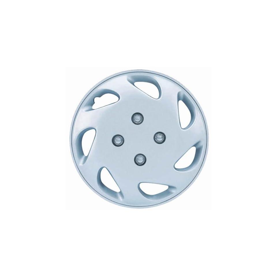 Drive Accessories KT 848 13S/L, Honda Civic, 13 Silver Replica Wheel Cover, (Set of 4)
