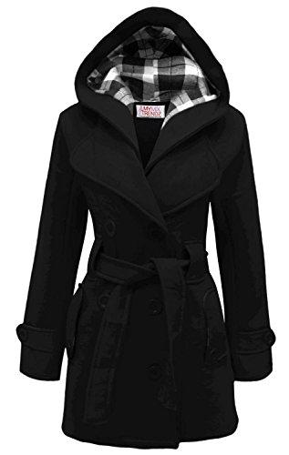 MyMixTrendz- Womens Warm Fleece Hooded Jacket