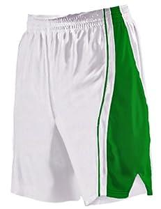 Buy Alleson 547PW Women s Dazzle Basketball Shorts WH KE - WHITE KELLY WM