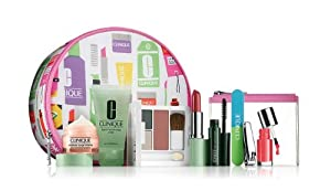 2013 Fall Bloomingdales Clinique 8 Pcs Spring Skin Care & Makeup Gift Set (A $85 Value)