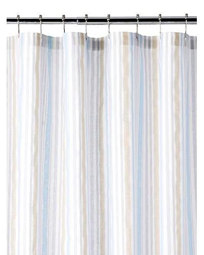Somerset Stripe Shower Curtain, Neutral