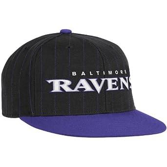 NFL Baltimore Ravens End Zone Flat Visor Flex Hat - Tw84Z by Reebok