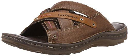 20f5e07bcab Lee Cooper Men s Leather Flip Flops Thong Sandals 1199 Rs  Mrp -1199 ...
