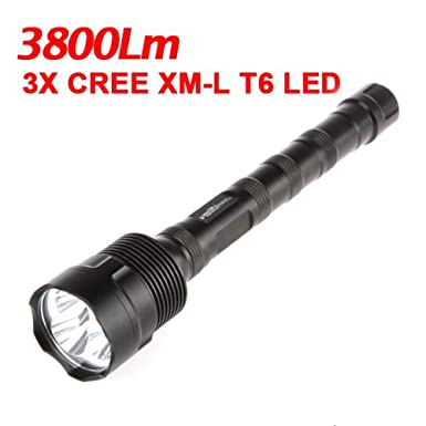 Best Price Trustfire Cree Xm-l T6 5-modes 3800lm Led Flashlight Electric Torch Sale Cheap