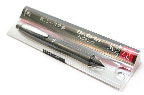 Dr.GRIP(ドクターグリップ)0.5mmシャープペン フルブラック【ブラック】 HDGFB-80