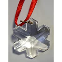 Hanging Crystal Snowflake Ornament Made with Swarovski Crystal