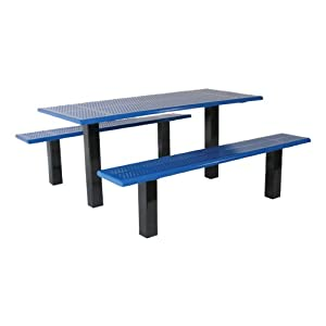 Rectangle Picnic Table w/ Two Benches (8' L) by SportsPlay Equipment Inc