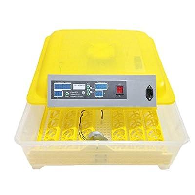 48 Eggs Digital Clear Temperature Control Advance Hatching Egg Incubator