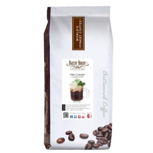 Barrie House Irish Cream Coffee 2.5 lb. Whole Bean Bag