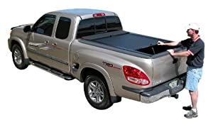Roll-N-Lock LG560M M-Series Manual Retractable Truck Bed Cover for Tundra Stepside 03-06