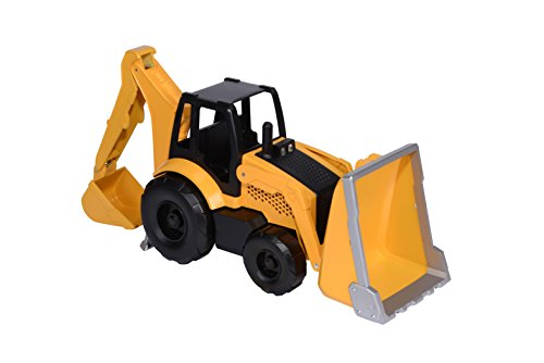 Toy State Caterpillar Lights and Sound Job Site Machines: Backhoe (Styles May Vary)
