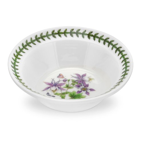 Portmeirion Exotic Botanic Garden Oatmeal/Soup Bowl, 6.5-Inch, Assorted, Set Of 6
