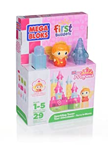 Mega Bloks MB Little Princess Sparkling Tower