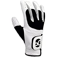 Mens One Size Fits All Glove-White Right Hand