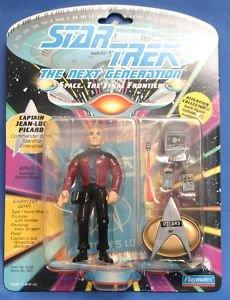 "4.5"" Captain Jean-luc Picard, Commander of the Starship Enterprise - Star Trek: The Next Generation - 1"