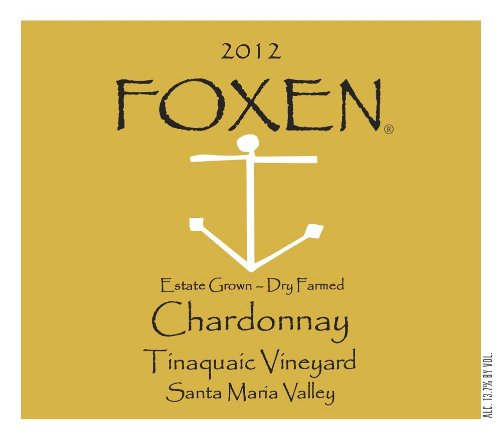 2012 Foxen Chardonnay Tinaquaic Vineyard 750 Ml