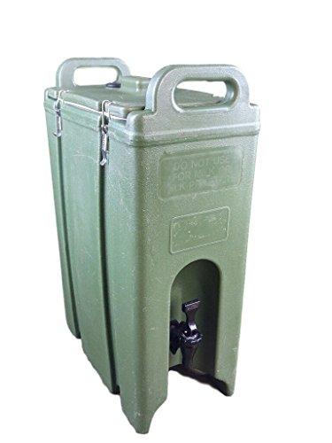 Cambro Olive Drab Military 5 Gallon Insulated Beverage Dispenser (Cambro Drink Dispenser compare prices)