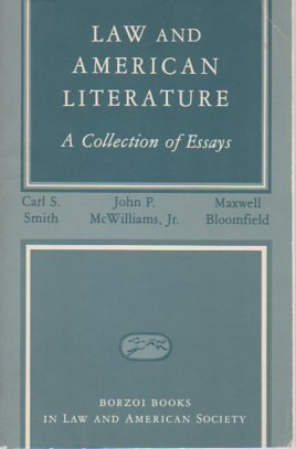 law and american literature a collection of essays American poet and journalist walt whitman's verse collection leaves of grass is an american literature landmark ralph waldo emerson praised the collection as the most extraordinary piece of wit and wisdom america had yet contributed.