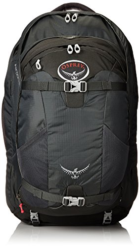 Osprey Farpoint 55 Travel Backpack, Charcoal Gray, Medium/Large