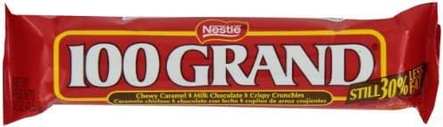 Nestle 100 Grand Chocolate Candy Bars 15-Ounce Bars Pack of 36