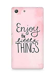 AMEZ enjoy the little things Back Cover For Sony Xperia M5