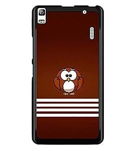 PRINTSWAG OWL Designer Back Cover Case for LENNOVO A7000