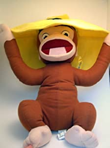 "18"" Curious George with Hat Plush"