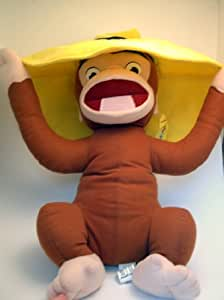 """18"""" Curious George with Hat Plush"""