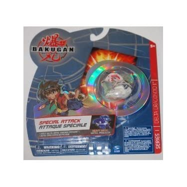 Bakugan Battle Brawlers Special Attack Heavy Metal Series 1 Delta Dragonoid Ii White And Red