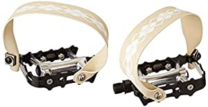 Power Grips High Performance Pre-Assembled Strap/Pedal Kit, Black