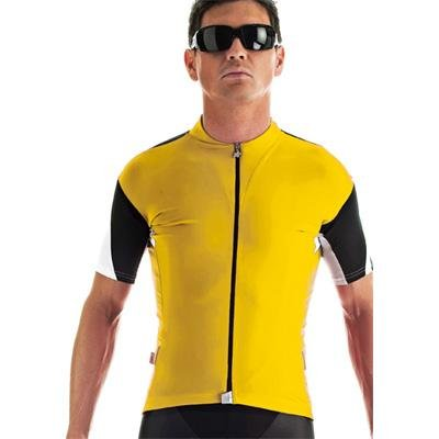Buy Low Price Assos 2013 Men's SS.13 Short Sleeve Cycling Jersey – Yellow – 11.20.202.30 (B002F9FGYE)
