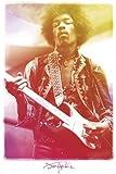 Jimi Hendrix-Legendary Poster, 61x92