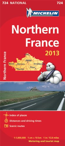 Northern France 2013 (Michelin National Maps)