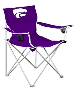 Buy NCAA Kansas State Wildcats Deluxe Folding Chair by Logo