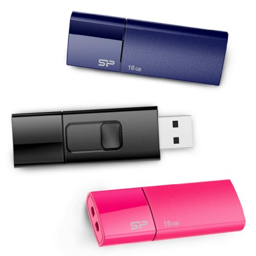silicon-power-16gb-3-pack-ultima-u05-usb-20-flash-drive-blue-pink-black-sp048gbuf2u05vcm
