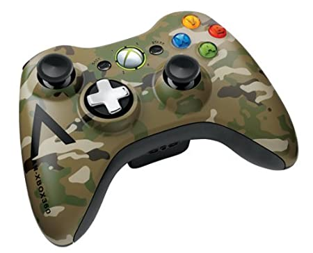 Xbox 360 Special Edition Camouflage Wireless Controller by Microsoft