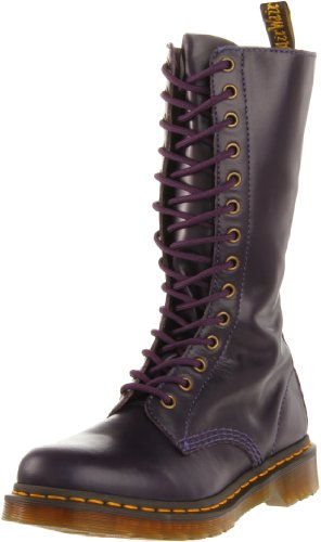 Dr Martens Women's 1B99 Potent Purple Lace Up Boot 11820500 7 UK